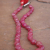 Large Strand of 33 Genuine Ruby Beads